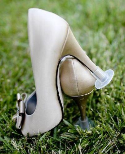 Protector de Tacones para bodas en jardin