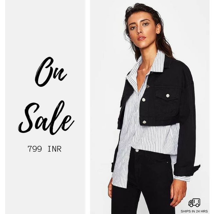 Dual Flap Pocket Front Crop Denim Jacket For 799 INR    Click the link in bio @zooomberg to shop!!   #sale #jacket #denim #instagram #girls#love #sun #fun #girl #cute #happy #ootd #igers #follow #followme #instafashion #instagood #instashop #shopping #style #streetstyle #fashion #styleinspiration