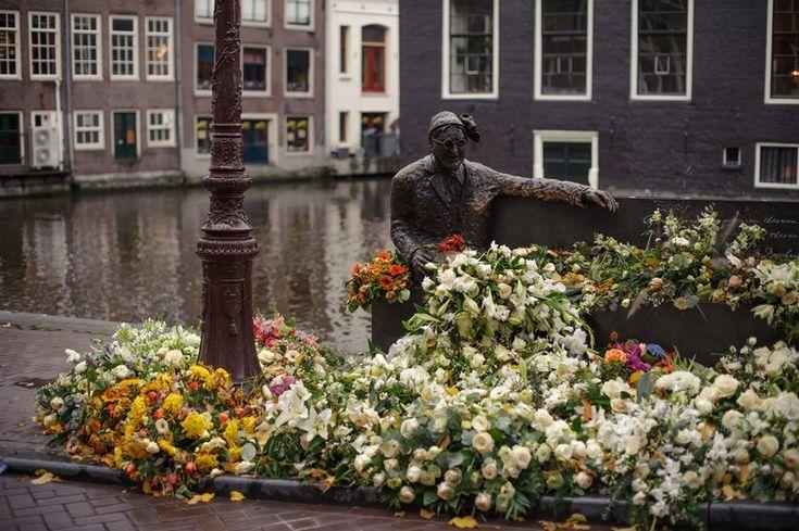 A canal in Amsterdam via Tea & a Camera.com