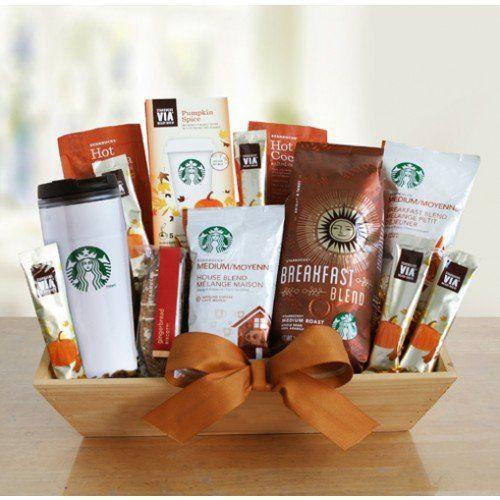 Chance to Win a Starbucks Pumpkin Spice Shades of Autumn Gourmet Gift Basket!