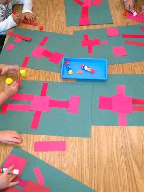 Robot rectangle shapes
