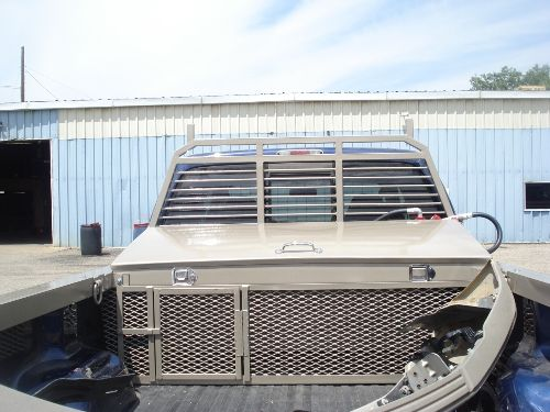 I really like how this truck bed liner has a secure area to put things that are a little smaller to keep them safe. I've been looking at getting a bed liner for my truck so I can haul my fishing gear more efficiently while also protecting my truck. My tackle box and other small items would fit perfectly in the caged area while my kayak would fit nicely in the rest of the bed I'd think.