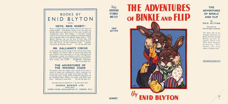Adventures of Binkle and Flip. Enid Blyton.