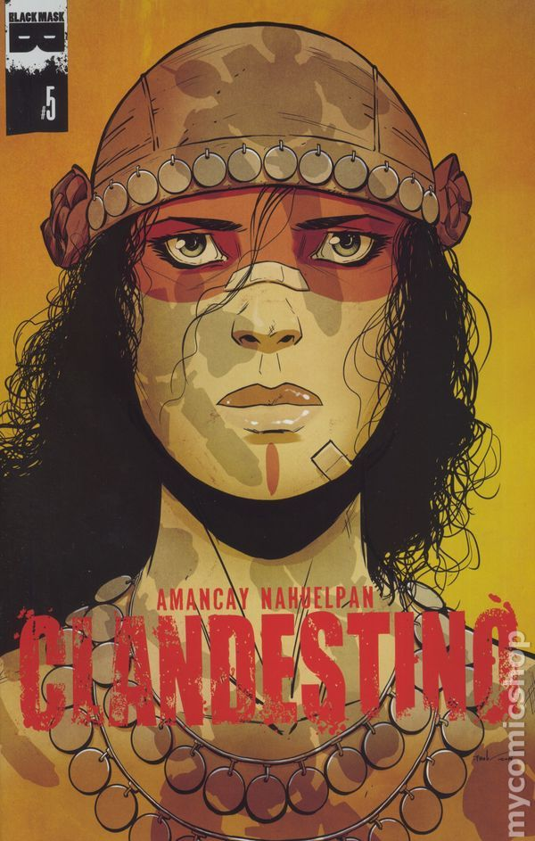 Clandestino (2015 Black Mask) 5