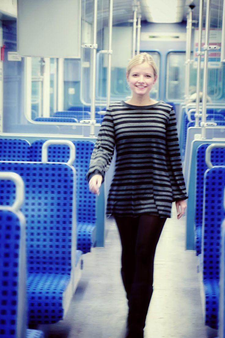 Free sewing pattern Top German Pech & Schwefel: Free Patterns - The Selbermacher tunic