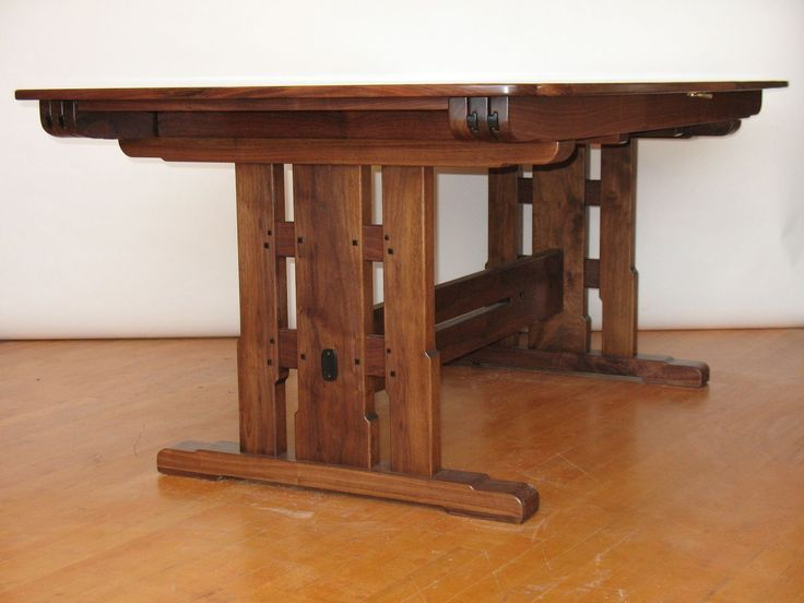 Mission Dining Tables | Craftsman, Arts And Crafts, Stickley Style .