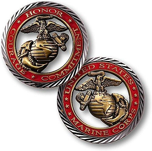 U.S. Marines - Core Values Coin
