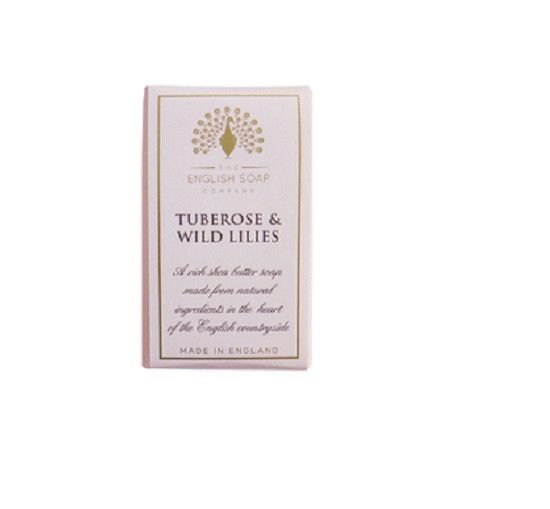 The English Soap Company Tuberose and Wild Lilies BAR SOAP