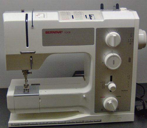 Bernina 1008 i've heard dealers say that this machine is the best one Bernina ever made.