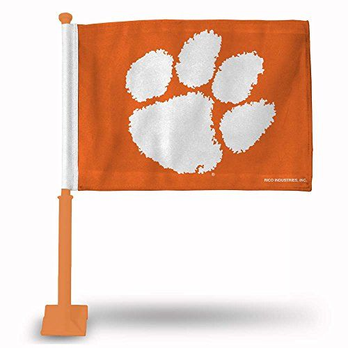 Clemson Tigers Car Flags