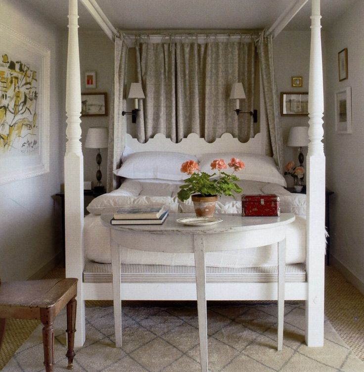 veere grenney  http://markdsikes.com/2012/09/07/fabulous-fabrics/Tiny Bedrooms, Small Bedrooms, Guest Bedrooms, Fantasy Bedroom, Small Rooms, Canopies Beds, Small Spaces, Guest Rooms, Four Posters Beds