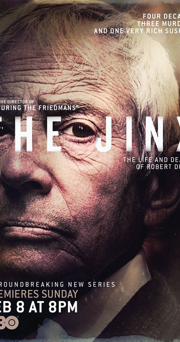 The Jinx: The Life and Deaths of Robert Durst: Filmmaker Andrew Jarecki examines the complicated life of reclusive real estate icon, Robert Durst, the key suspect in a series of unsolved crimes.