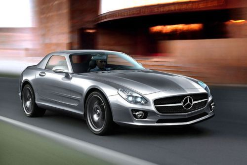 Baby SLS Confirmed Mercedes confirms production of SLC to rival the 911