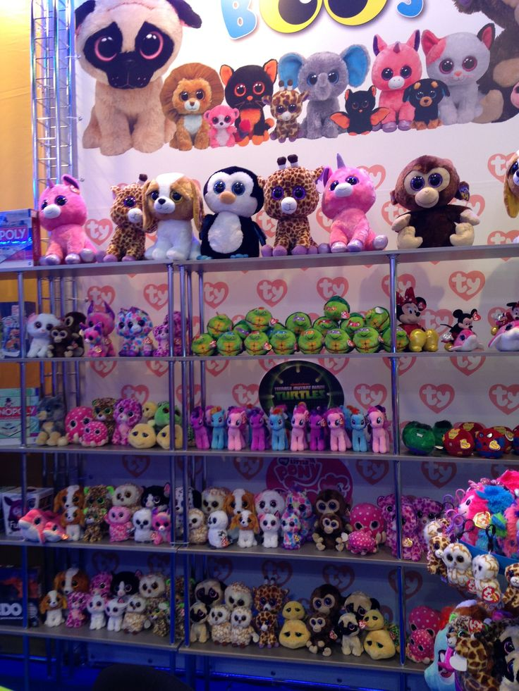 ty beanie boos at justice - Google Search (me>) OMG I LOVE THIS I HAVE ALL OF…