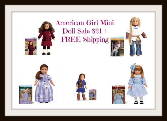 American Girl Mini Doll Sale $21 plus FREE Shipping Options #AmericanGirl #HotDeals