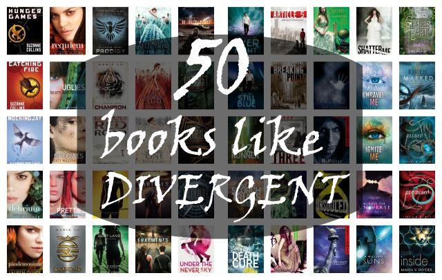 50 Books like Divergent