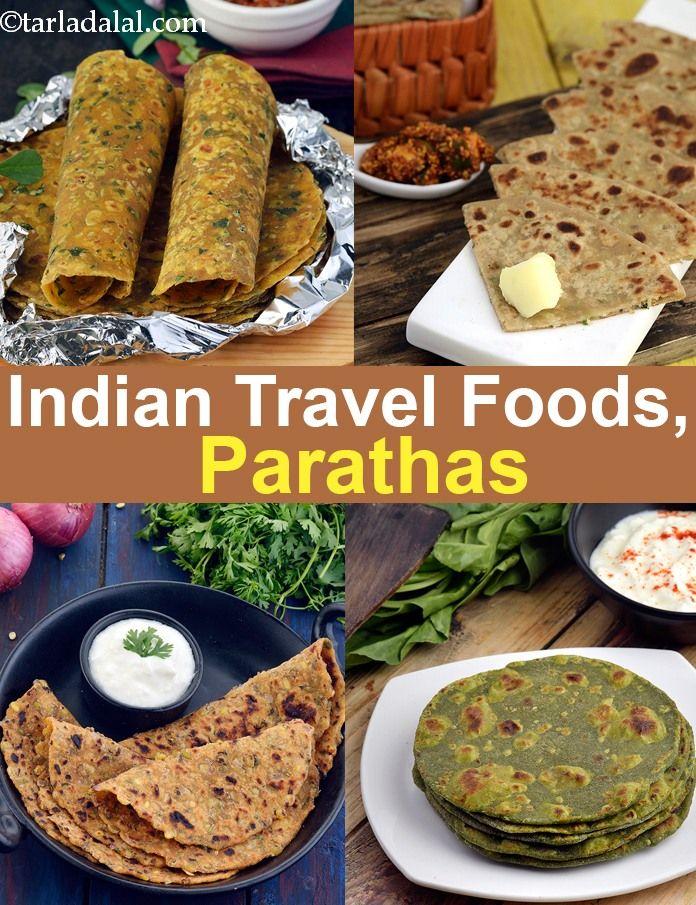Indian Travel Food Paratha Veg Indian Food Recipes Vegetarian Vegetarian Travel Food Food