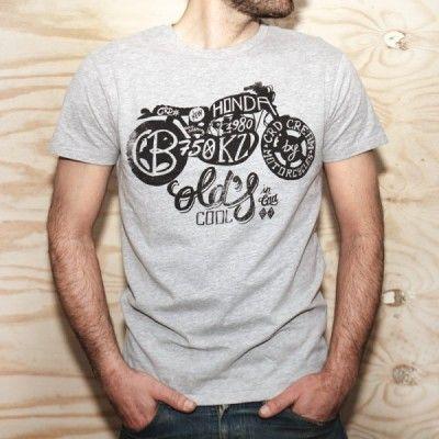 "CRD ""CB750"" motorbike T-shirt"