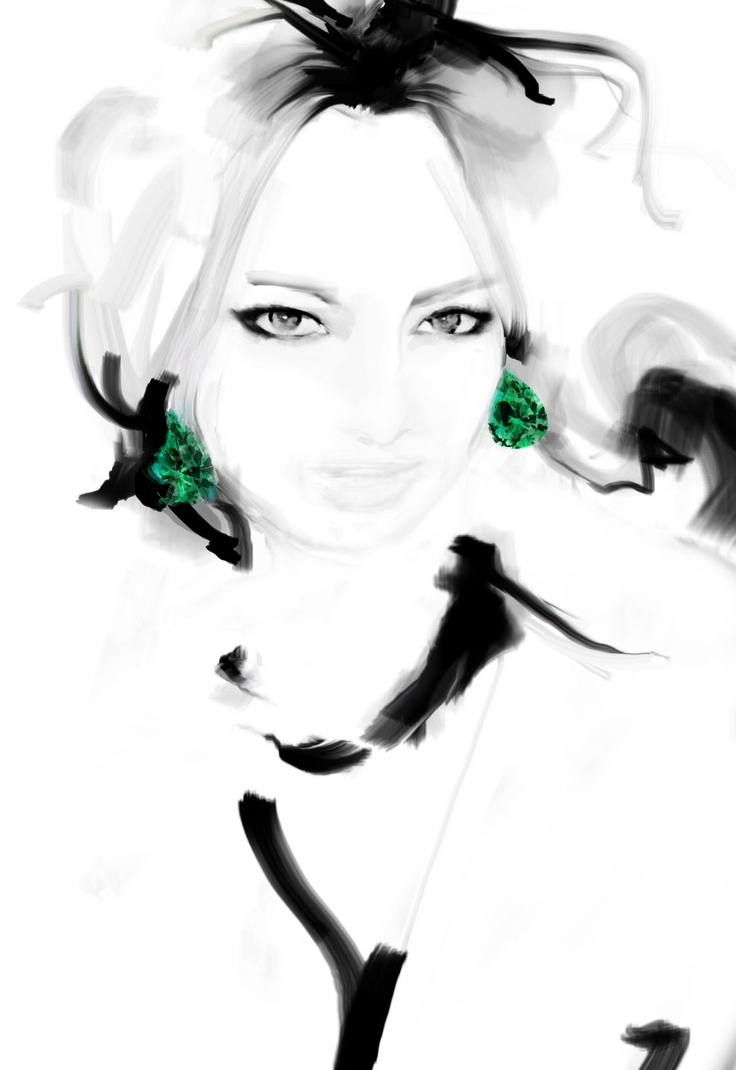 Yiunam Leung fashion illustration: Harrods/Urban Retreat