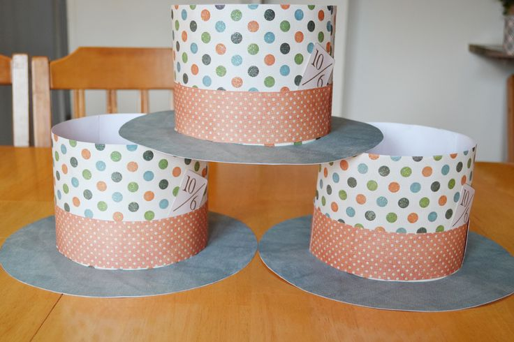 paper plate hat template | Paper Hats tutorial