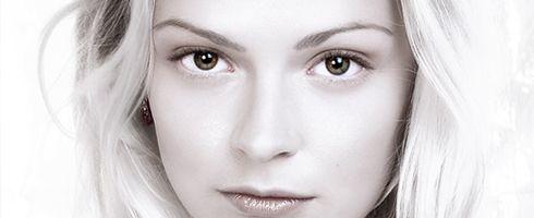 pure white portrait retouch