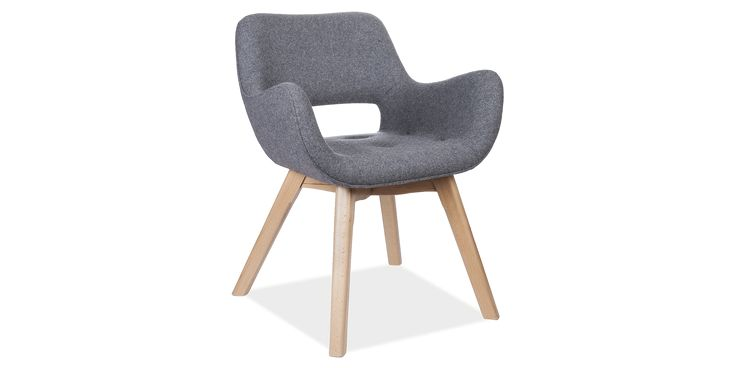 Seminal chair design from 1952 Curved backrest follows contours of spine Perfectly complements the Contour Chair and the Chair Grant Featherston Dining Chair.