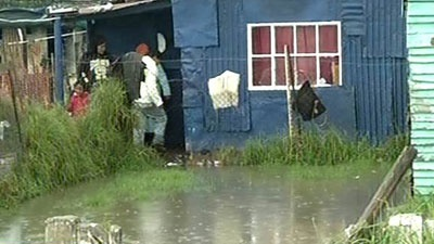Soweto, ECape Floods | Water levels in Kliptown rose as high as 1.5 metres. | Photo SABC