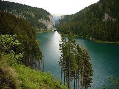 Bolboci Lake, Bucegi Mountains, Romania