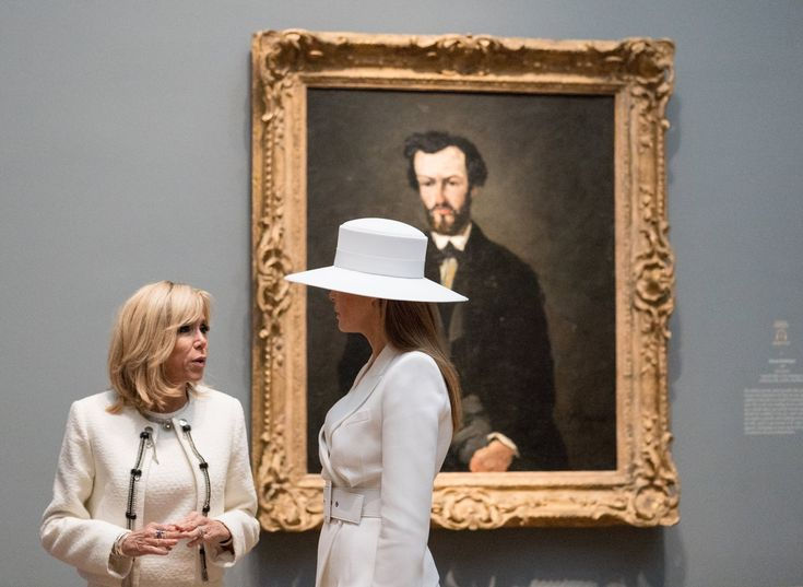 Melania Trump White Hat