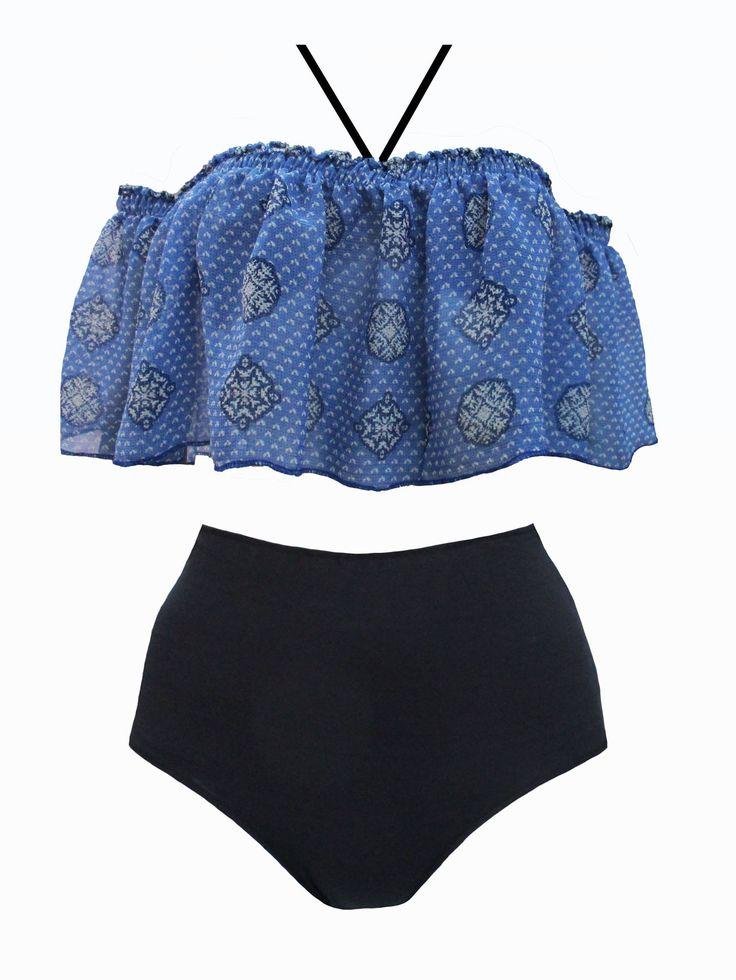 le maillot Cervidé à porter de quatre façons différentes .http://bodylove.ma/portrait-133-0-beachwear-0.html