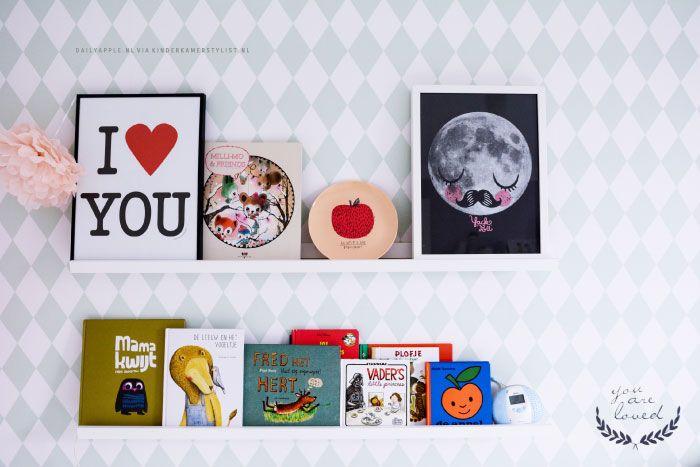 Meisjes peuterkamer | Kinderkamer en Babykamer Inspiratie