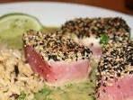 Thon frais et sauce beurre-wasabi - Recettes Allrecipes Québec
