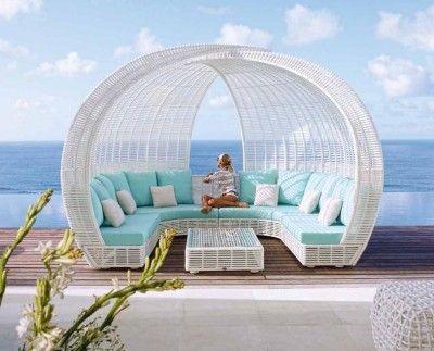 sofas chill out de diseo spartan sofa realizado en rattan sintetico de alta calidad