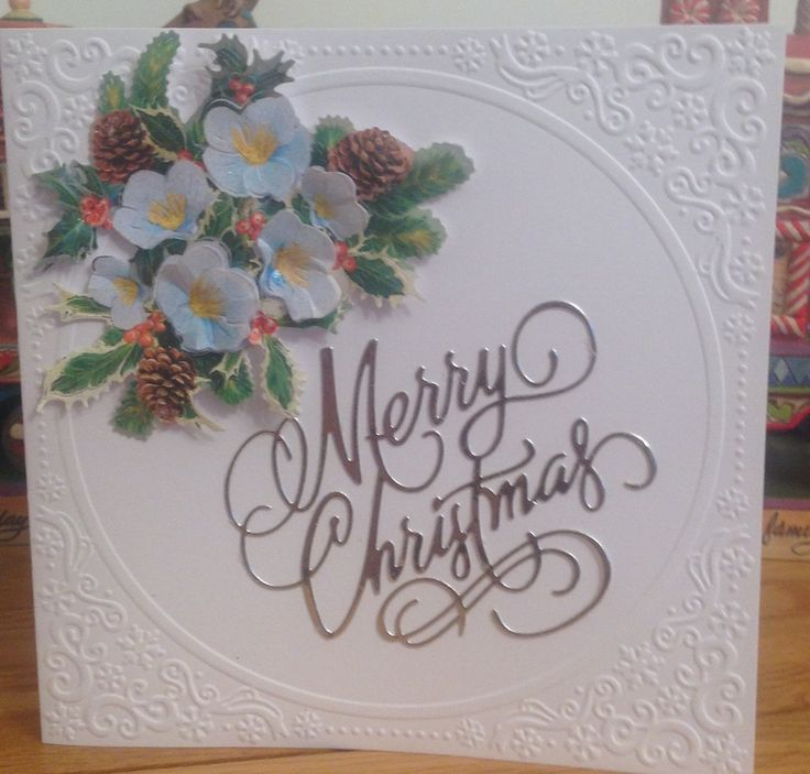 Lace Card Making Ideas Part - 29: Tattered Lace Christmas Charisma Dies