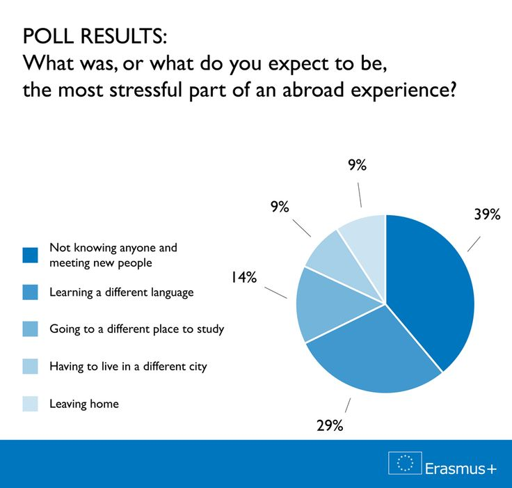 So what did you think was the most stressful part of an abroad experience? Here are the poll results! Re-pinned by #Europass