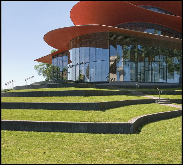 Gottfried Böhm@ Hans-Otto Theater 5 by d.teil, 1996 - 2006. potsdam