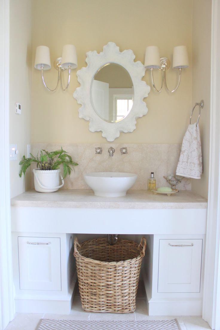 Badezimmer, Strand Designs, Badezimmerspiegel, Toskanische Badezimmer, Französisch  Badezimmer, Badgestaltung Inspiration, Das Bad, Waschbecken, Bad