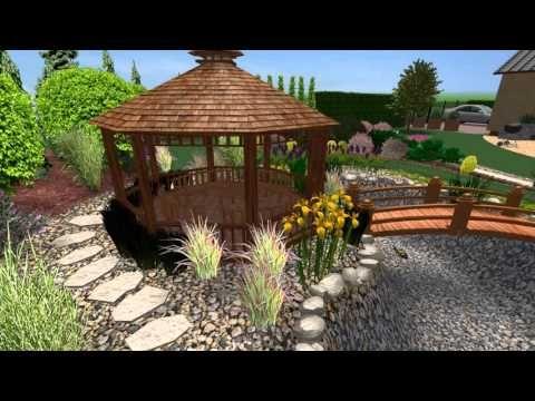 Návrh romantické zahrady na Vysočině pro pár středního věku