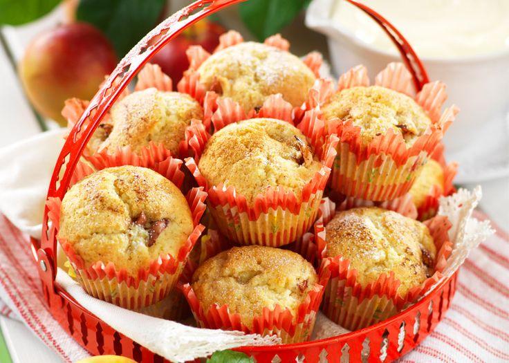 Muffins med äpple och kanel recept