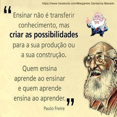Laboratório de Informática Educativa: Paulo Freire e sua Pedagogia humanista e emancipatória