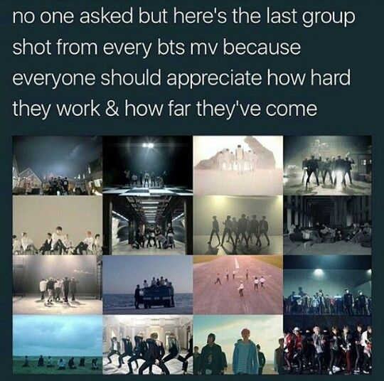 Armys, pls do appreciate our 7 boys okay. They are humans if u left hurtful comment pls pls dun insult them or wat. They are perfect by who they all by how they gt in talents if u ssay u hate rap monster idk why would u even hate him. His the best rapper I ever seen. So army's, appreciate them pls srsly appreciate them for who that are.