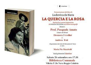 Utilize rap! Again!: ''La quercia e la rosa'', di Ludovica De Nava. Pre...