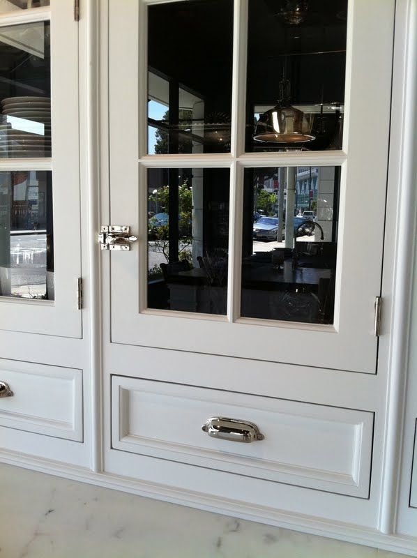 Georgica Pond Christopher Pea Kitchens Like The Hardware Painted Interior Cabinet