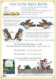 Two Little Dicky Birds - Finger Puppets