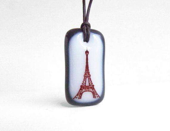 Eiffel Tower Necklace – Paris Jewelry, travel necklace, gift for her – Paris necklace, Paris France
