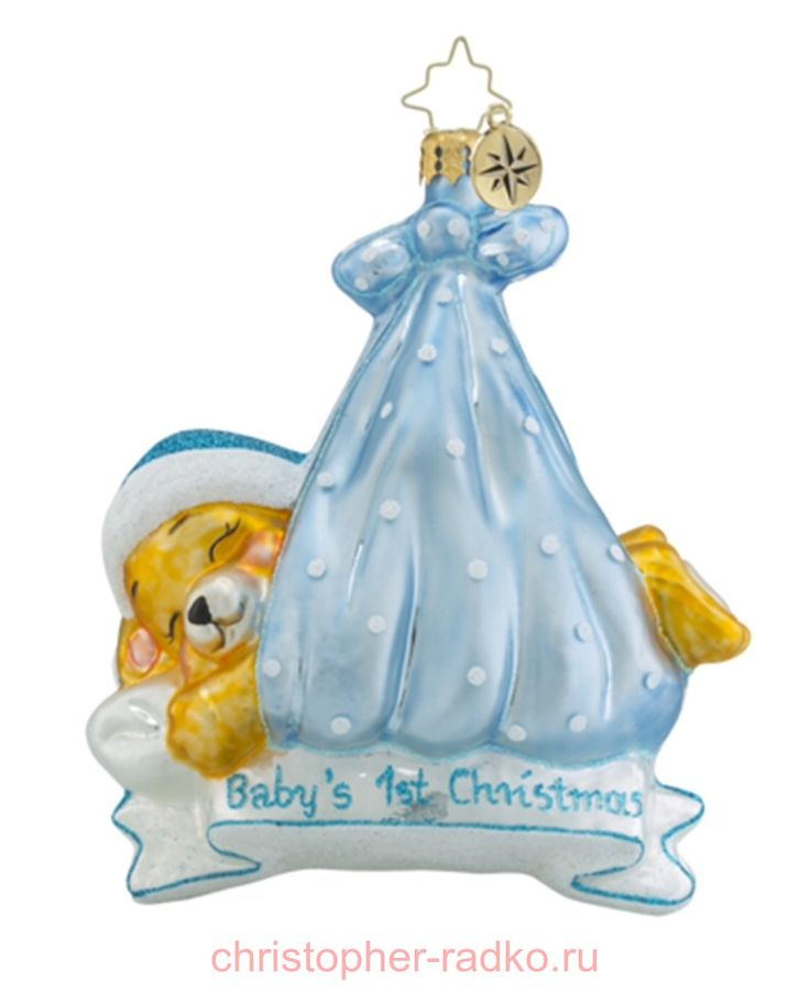 Елочная игрушка Первое Рождество (мальчик) арт.1018456