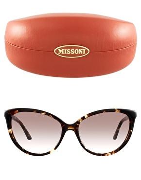 Missoni oval lens sunglasses...