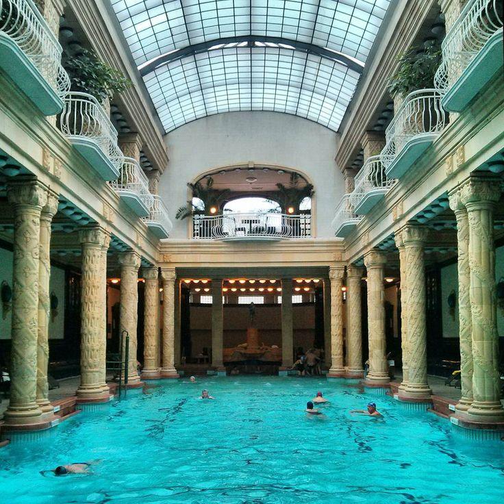 #gellert #gellertbaths #terme #bath #pool #hungary #budapest