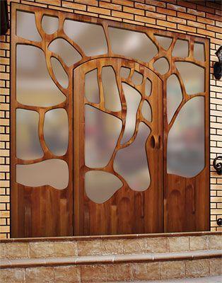 .: Barcelona Doors, Doors Open, Art Nouveau, Doors Design, Puertas Gaudi, Front Doors, Wooden Doors, Wood Doors, Victor Klassen