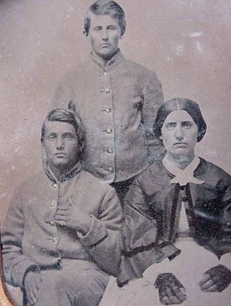 Confederate sons & mother